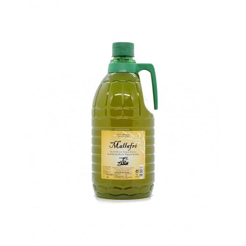 Aceite Mallafré Arbequina garrafa 2 litros