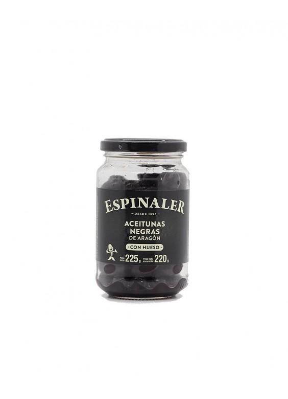 Aceitunas Espinaler negras aragón