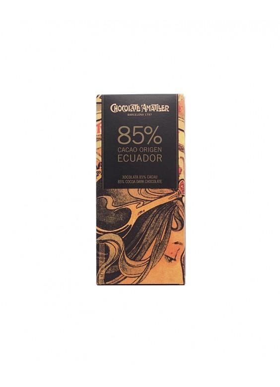 Chocolate Amatller Equador 85% tableta 70grs