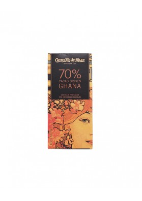 Chocolate Amatller Ghana 70% tableta 70grs