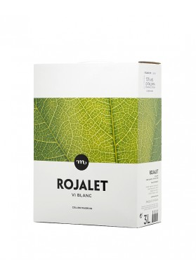 Bag in Box Rojalet Blanc 3 litres tetrabrick