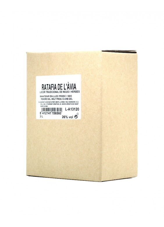 Ratafía de l'Ávia Bag in box 3 Litros